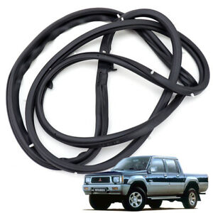 Front Left Weatherstrip Door Rubber Seal Fits Mitsubishi L200 Cyclone 1986 1996