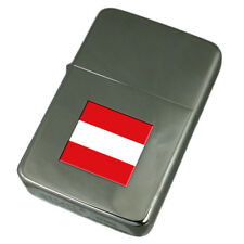 Engraved Lighter Austria Flag