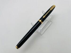 K2718 PARKER Fountain pen  Black 14K   <F>