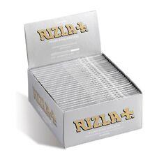 Rizla 1600 Cartine Silver King Size Slim Box Da 50 Libretti