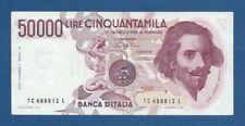 ITALIA // ITALY -- 50000 LIRE ( 6.2.1984 ) -- MBC- // VF -- PICK 113a .