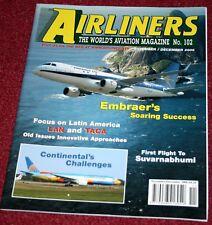 Airliners 102 Continental Airlines,SOL,LAN,TACA,Embraer,Aerosur,Icaro,El Alto