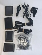 Lot Of 4 Garmin Gps Devices With Accessories Nuvi 205w 265 255 x2