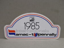 1x Sticker - decal Amac Tulpenrally 1985 with org.back 80's (02544)