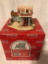 """1995 Lilliput Lane Coca Cola Country """"Fill'er Up And Check The Oil�"""