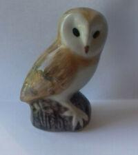 "Quail  - Q  - Ceramic Barn Owl - 3"""