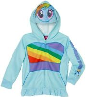 My Little Pony Girls Hooded Jacket NWT Sz. 4T, 5