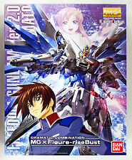 Bandai Mg 163787 Dramatic Combination Freedom Gundam Ver.2.0 & Kira 1/100 kit