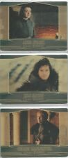 Game of Thrones Season 7 - Set of 3 Archive Box GOLD Valyrian Metal Cards