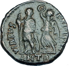 ARCADIUS crowned by Victory 395AD Antioch Authentic Ancient Roman Coin i65933
