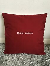 """NEW 16"""" PLAIN WINE CUSHION COVER PILLOW BED SOFA MORE COLOURS SIZES AVAILABLE"""