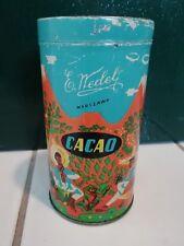 Herrliche antike Cacaodose Blechdose Kakao Original Alt Nedely warszawa