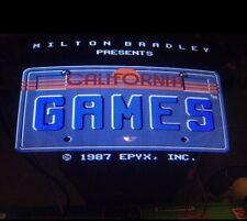 Nintendo Playchoice 10 California Games Cart Pc-10