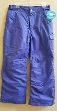 Columbia Starchaser Peak II Snow Pant Blue Size XL 18-20 Yourth NEW!  MSRP$75