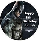 Batman Edible ICING Cake Topper Party Decoration