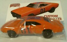 2018 Hot Wheels Custom Dukes of Hazzard General Lee 1969 Charger (Black Wheels)