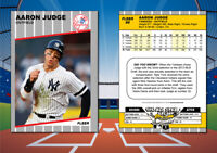 1989 Fleer Style AARON JUDGE Custom Artist Novelty Baseball Card