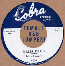 R&B REPRO: COBRA 5024 – BETTY EVERETT – AIN'T GONNA CRY / KILLER DILLER