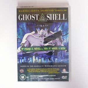 Ghost In The Shell DVD Anime Movie PAL Region 4 Free Postage