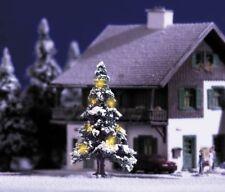 Busch N/TT 5410 Premium Weihnachtsbaum mit 7 gelben Kerzendioden Neu
