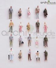 100 x Modello Figure per modellismo 1:75, ferrovia Scala 00, facile dipinto