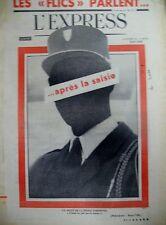 CRISE DANS LA POLICE HITLER COMMENT L'ALLEMAGNE EST DEVENUE FOLLE L'EXPRESS 1961