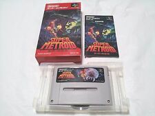 Boxed / Super  METROID /S Famicom SFC SNES /Japanese Ver.