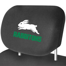 SOUTH SYDNEY RABBITOHS Official NRL Universal Headrest Cover Pairs