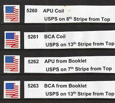 US 2018 5260-63 Flags Set - USPS Microprint locations indicated - Free USA Ship