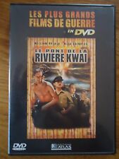 DVD * LE PONT DE LA RIVIERE KWAI * FILM DE GUERRE ATLAS
