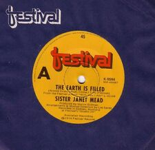 SISTER JANET MEAD Earth Is Filled / Lamb God 1974 OZ 45
