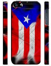Puerto Rico Symbol Flag Boricua iPhone 4 4S 5 5S 5c 6 6S 7 + Plus Case Cover ip2