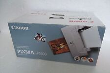 Canon Pixma iP1600 Compact Digital Photo Printer USB ChromaLife100 9989A001 NEW
