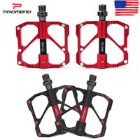 PROMEND Bicycle Road Mountain Bike Pedals Carbon Fiber Sealed Bearings