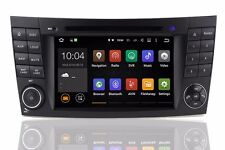 Android 7.1 Car DVD GPS Player for Mercedes Benz W211 W219 W463 E/CLS-Class Wifi