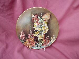 Border Fine Arts Flower Fairy plate  THE SNAPDRAGON FAIRY