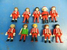 Weihnachtsmann Figuren Sammlug 10 x Santa Claus Weihnachten  Playmobil 6852