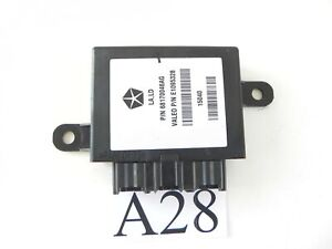 2015 DODGE CHALLENGER PARKING ASSISTANT CONTROL MODULE 68170046AG OEM 093 #28 A