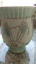 FIELDINGS CROWN DEVON 1930's Tube lined 'Ears of Corn' Vase Pattern M453