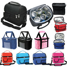 Large Insulated Lunch Bags Cool Picnic Adult School Food Lunch Box Storage Bags