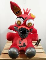 """Five Nights at Freddy's Foxy 16"""" Plush Red Stuffed Plush Target Exclusive New"""
