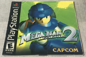 Mega Man Legends 2 MANUAL ONLY Sony PlayStation 1 2000 Ps1 Psx Game Book Rare
