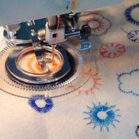 Daisy Flower Stitch Nähmaschine Nähfuß passt für Snap-On-Machi CLLL M6J8