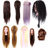 Salon Hair Hairdressing Practice Training Head Mannequin Doll Hair Styling Wig g