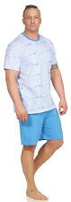 Pleas / Schiesser Herren Schlafanzug Pyjama kurz Shory 100% BW .P4  Gr. 56 / 2XL