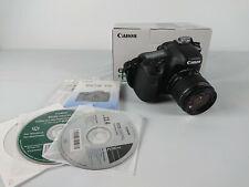 Canon EOS 7D reflex apn avec 18-55mm + 50mm II + 17-55mm USM