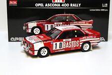 1:18 Sun Star Opel Ascona 400 rally bastos #10 New en Premium-modelcars