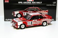 1:18 Sun Star Opel Ascona 400 RALLY BASTOS #10 NEW per PREMIUM-MODELCARS