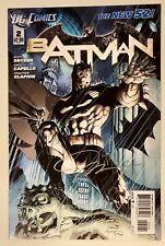 Batman #2 Jim Lee Incentive Variant, Signed by Jim Lee! 1st App Talon, DC New 52