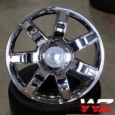 "22"" CA80 Style Wheels Chrome Rims Fits Cadillac Escalade ESV EXT Platinum"
